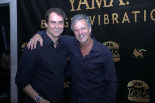 Marcello Antony e Marcello Novaes (Foto: Anderson Barros / EGO)
