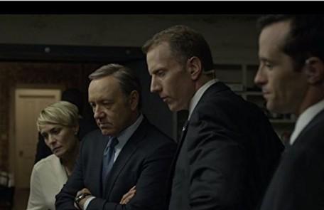 """Cena da segunda temporada de """"House of Cards"""": outro destaque do ano Divulgação"""