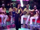 Ju Moraes interpreta 'Verdade', sucesso de Zeca Pagodinho, na grande final
