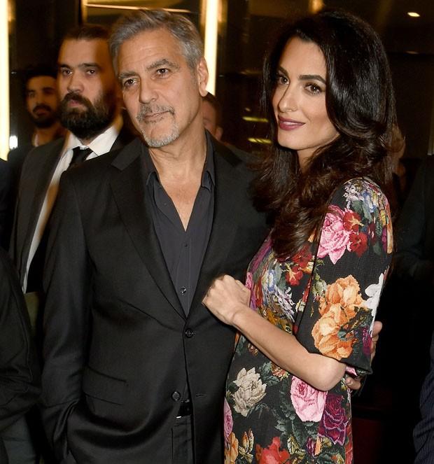 Clooney recusa afastar-se de Amal para não perder nascimento dos filhos