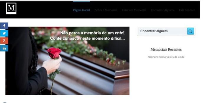 Memorial Online ajuda a superar morte de ente querido (Foto: Reprodução / Laura Martins)