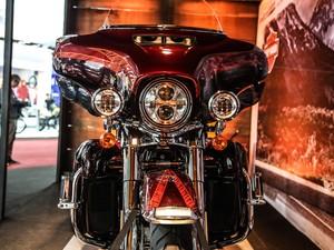 Harley-Davidson apresenta novidades no Salão Duas Rodas 2013 (Foto: Raul Zito/G1)