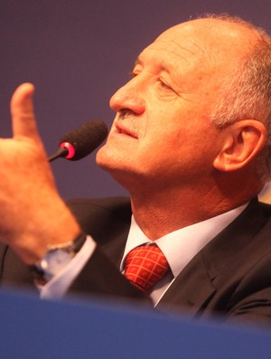 Luiz Felipe Scolari felipão coletiva seleção brasileira (Foto: Mowa Press)