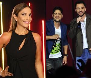 Ivete e Jorge e Matheus são um dos cantores que interpretam música autoral da banda (Foto: Isabella Pinheiro/Gshow/Cedoc)