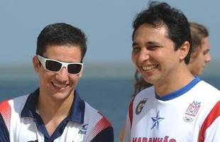 Preparadores físicos do Maranhão Basquete, Fabiano Furtado e Samir Sotão (Foto: Biaman Prado/MB/Divulgação)