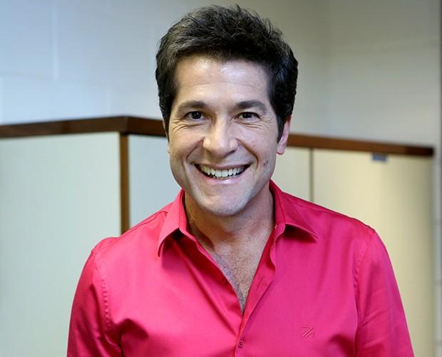 Daniel bastidores Shows ao Vivo (Foto: Isabella Pinheiro/TV Globo)