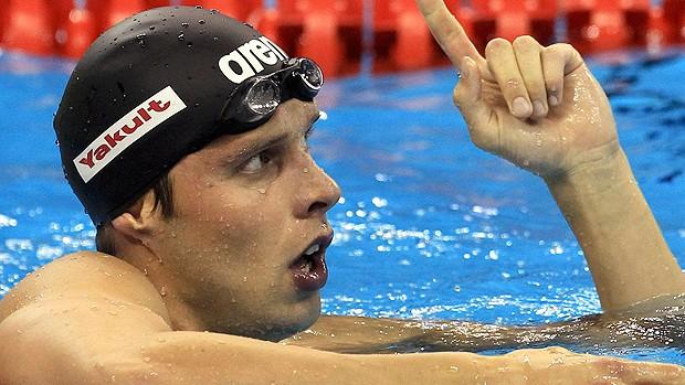 alexander dale oen ouro 100m peito mundial de natação (Foto: Agência Reuters)