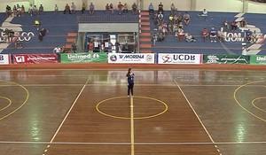Ginásio poliesportivo Dom Bosco, Copa Morena de futsal (Foto: Reprodução/TV Morena)
