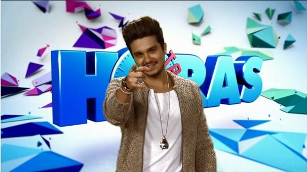 Luan Santana no Altas Horas (Foto: Reprodução/TVMO)