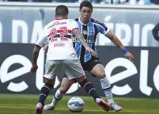 Giuliano, Gremio, São Paulo, RS, Arena (Foto: Lucas Uebel/Grêmio FBPA)