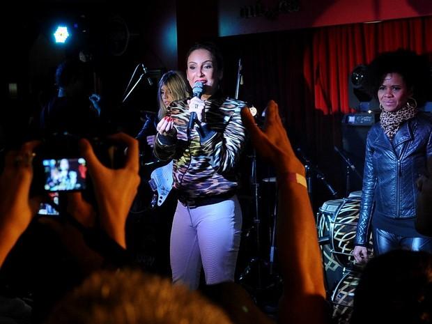 Claudia Leitte faz show em São Paulo (Foto: Francisco Cepeda/ Ag. News)