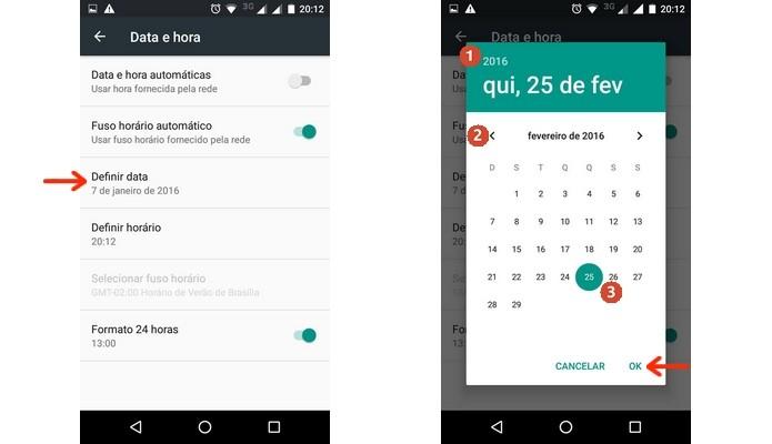 fecha del cambio de Android (Foto: Reproducción / Raquel Freire)