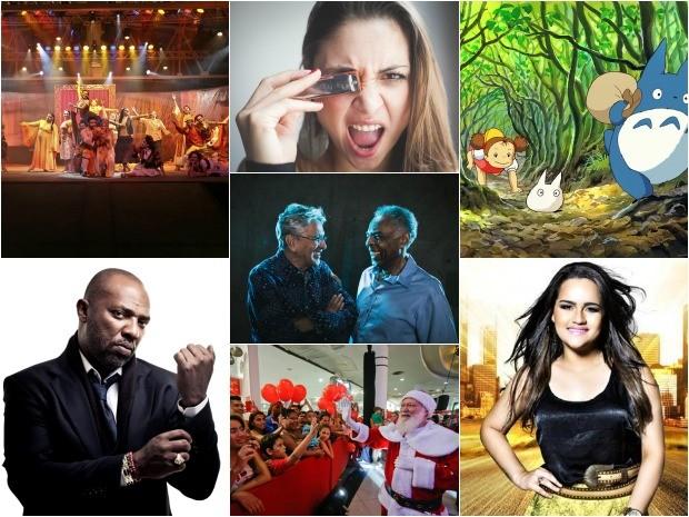 Atrações deste fim de semana no Ceará (Foto: Arte/G1 e Divulgação)