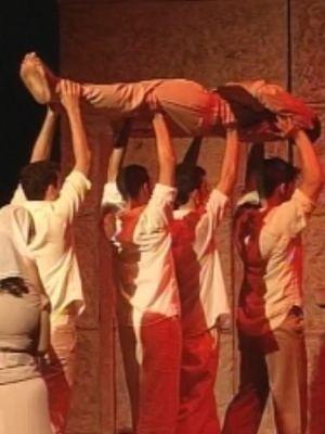 """Peça """"Orfeu de Conceição"""" foi uma das atrações do Festival (Foto: reprodução/TV Tem)"""