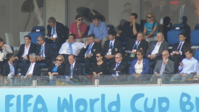 Joseph Blatter - Arena das Dunas - Itália x Uruguai (Foto: Augusto Gomes)