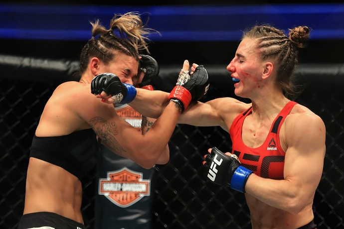 Alexandra Albu, Kailin Curran, UFC 214, MMA (Foto: Getty Images)
