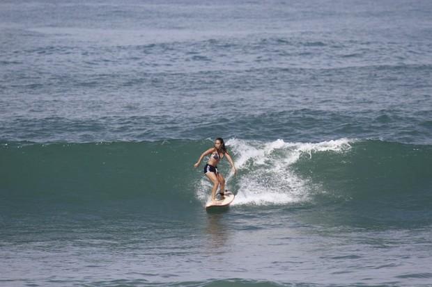 Daniele Suzuki no Rio (Foto: Dilson Silva/Agnews)
