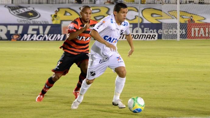 João Paulo - atacante do ABC - ABC x Atlético-GO (Foto: Frankie Marcone/Divulgação/ABC)