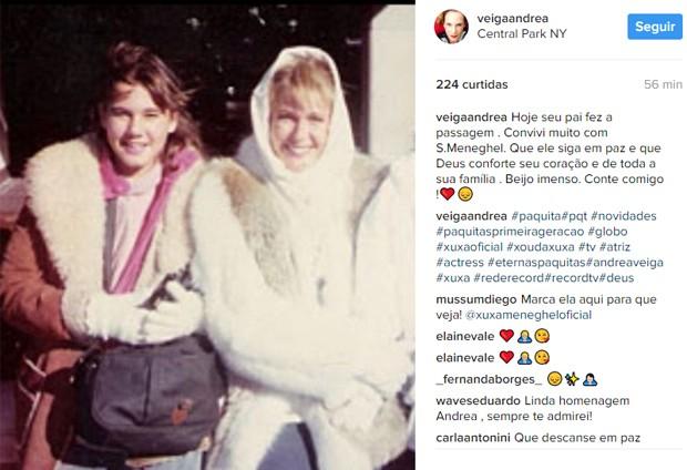 A ex-paquita Andréa Veiga (Foto: Reprodução/Instagram)