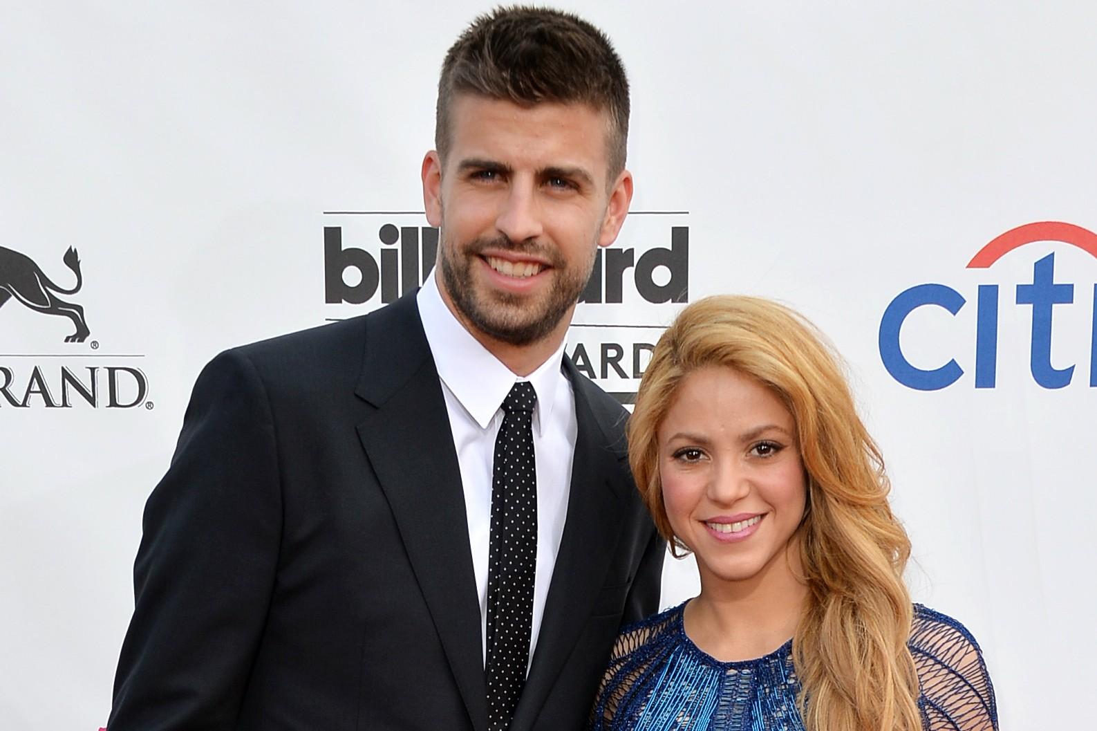 A cantora Shakira e o jogador espanhol de futebol Gerard Piqué formam um dos casais mais belos da Copa 2014. (Foto: Getty Images)
