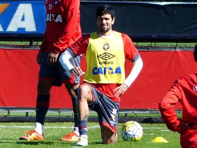 Lucho González Atlético-PR (Foto: Monique Silva)
