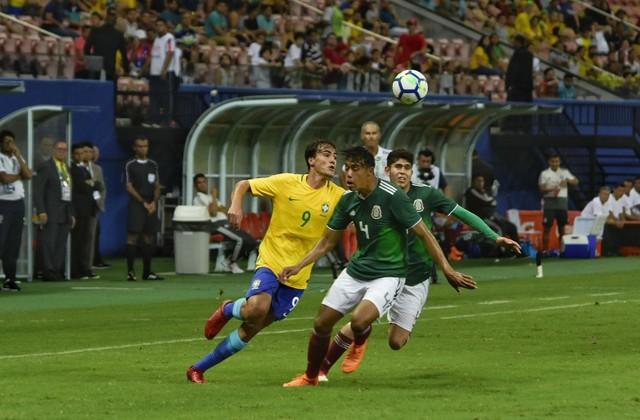 45adfe1a85 Brasil x México - Amistosos 2018 - globoesporte.com