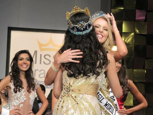 Sancler Franz , vencedora do Miss América (Foto: Divulgação)