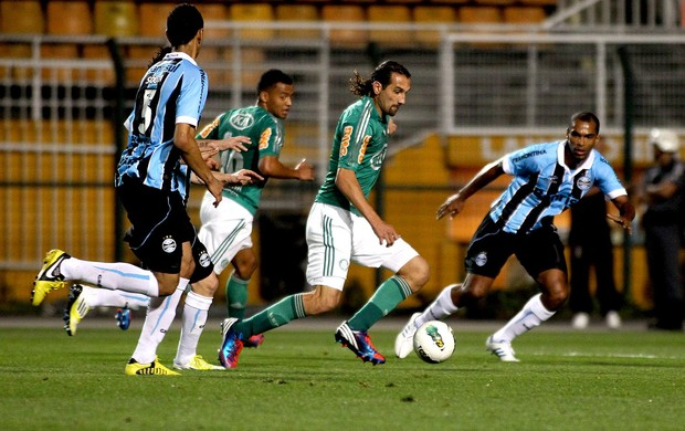 barcos palmeiras gr&#234;mio (Foto: L&#233;o Barrilari / ag&#234;ncia Estado)
