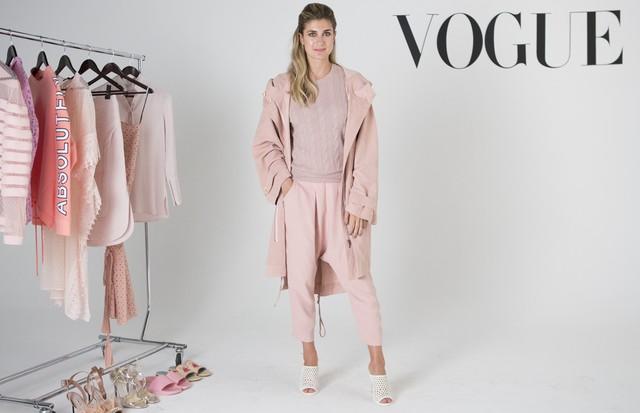 Barbara Migliori mostra como incorporar o pink no guarda-roupa (Foto: Pablo Escajedo)