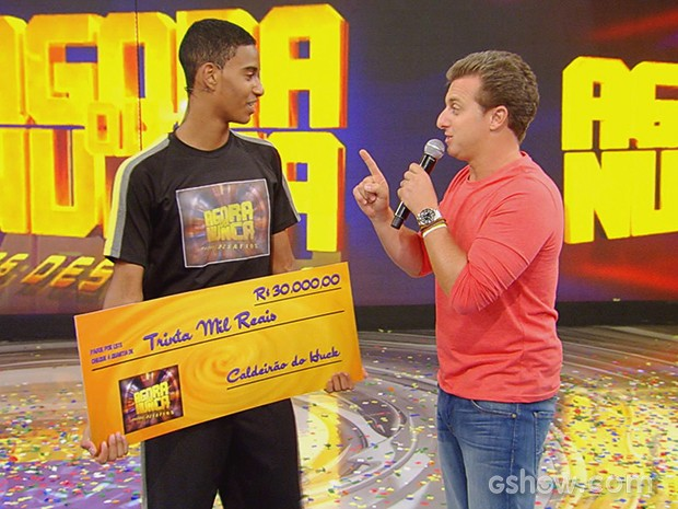 Atleta de badminton conquista R$ 30 mil no 'Agora ou Nunca', do Caldeirão