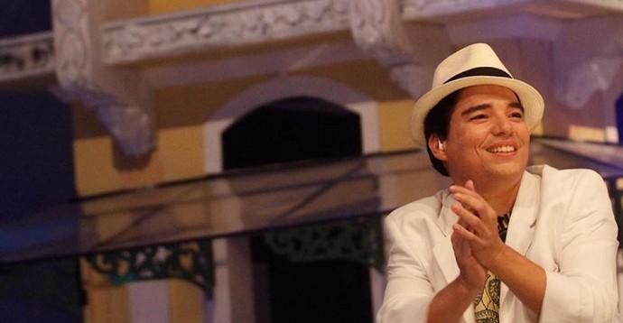 Registro do DVD do cantor Arthur Espíndola (Foto: Thiago Araújo)