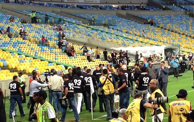 Botafogo homenagem título 1993  (Foto: Thiago Quintella)