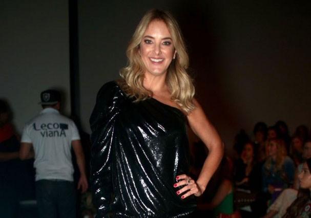 Ticiane Pinheiro na São Paulo Fashion Week (Foto: Arthur Vahia/Glamour)