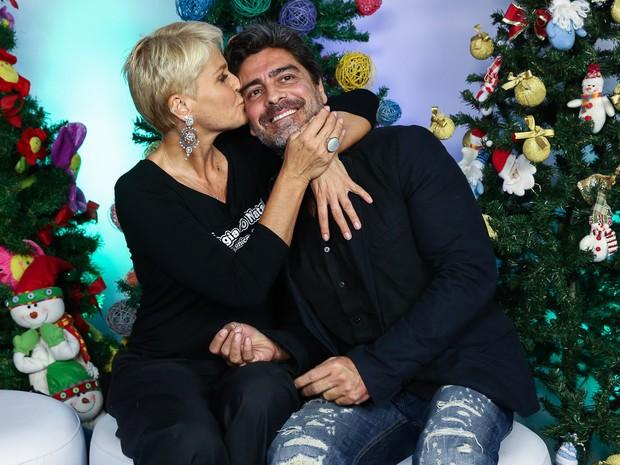 Xuxa e Junno (Foto: Manuela Scarpa/ Foto Rio News)