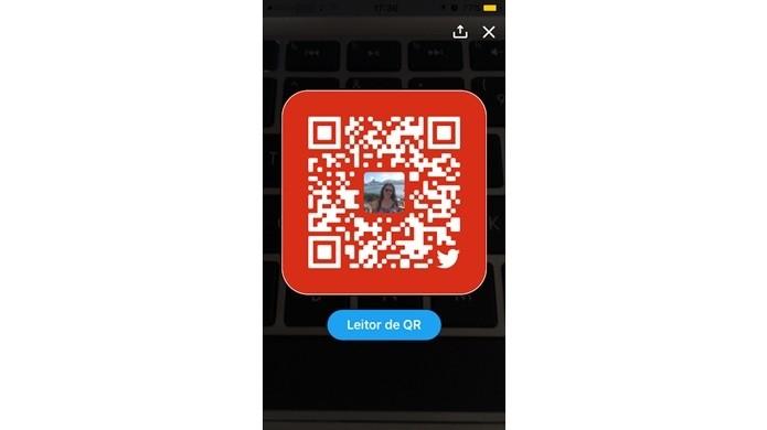 Acessar seu próprio QR Code no Twitter
