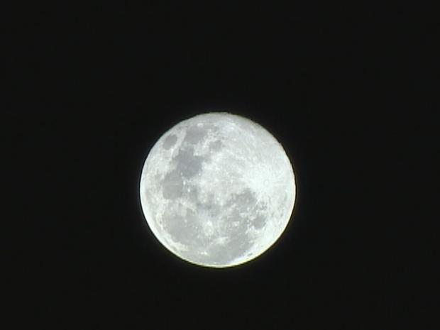 Super Lua de domingo (23) (Foto: Emanuel da Ros/RBS TV)