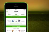 Acompanhe jogos do futebol pelo seu celular (arte esporte)