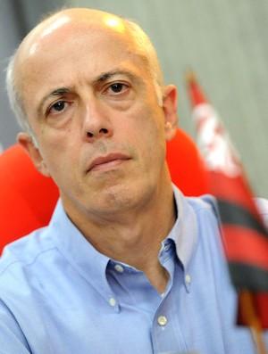 Wallim Vasconcellos, vice de futebol do Flamengo (Foto: Alexandre Vidal / Flaimagem)