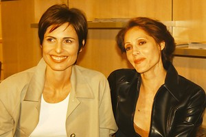Leila (Silvia Pfeifer) e Rafaela (Christiane Torloni) em
