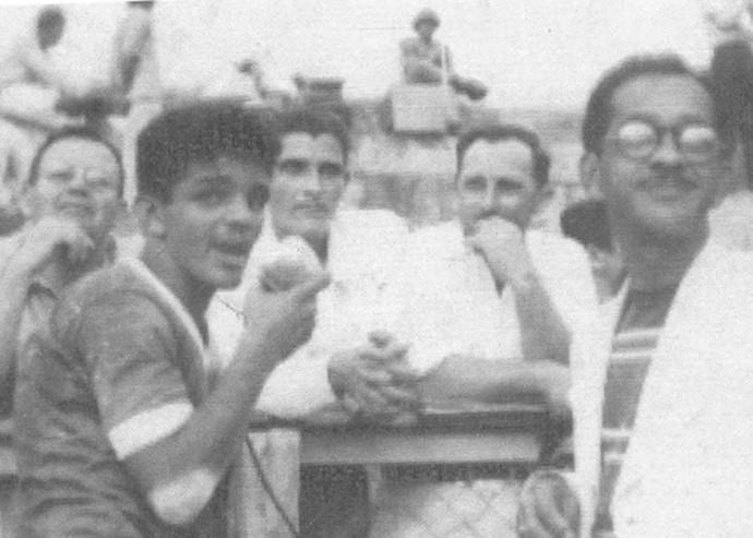 Dida, no CSA (Foto: Arquivo Museu dos Esportes)