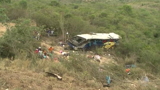 Morre a oitava vítima de acidente com ônibus na BR-116, no sudoeste da BA