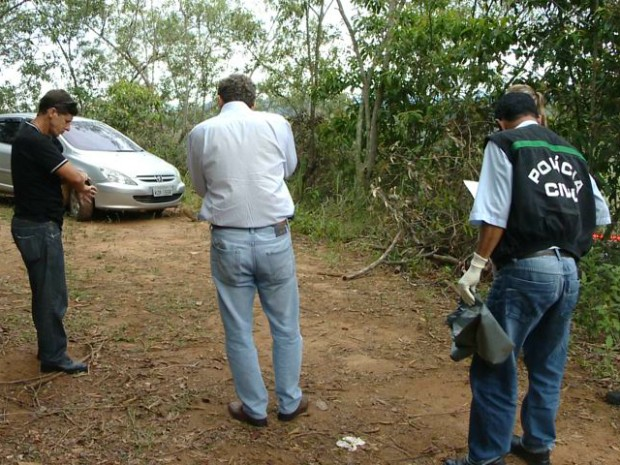Comerciante foi morto no interior de Viana (Foto: Reprodução/ TV Gazeta)