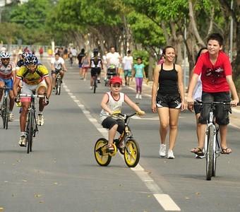 Faixa liberada Manaus (Foto: Antônio Lima/Semdej)