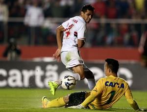 Alan Kardec são paulo e Danilo Chapecoense Morumbi (Foto: Marcos Ribolli / Globoesporte.com)