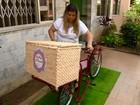 Empresários de Juiz de Fora apostam na venda de alimentos em bicicletas