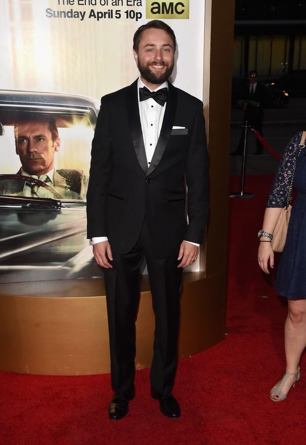Vincent Kartheiser na première de Mad Men (Foto: AFP)