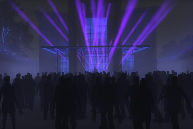 Palcos foram projetados para trabalhar junto a efeitos das luzes e efeitos especiais (Foto: Divulgação)