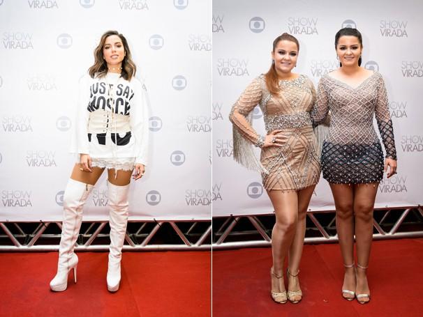 Anitta e Maiara & Maraísa também estão entre as atrações (Foto: Globo)