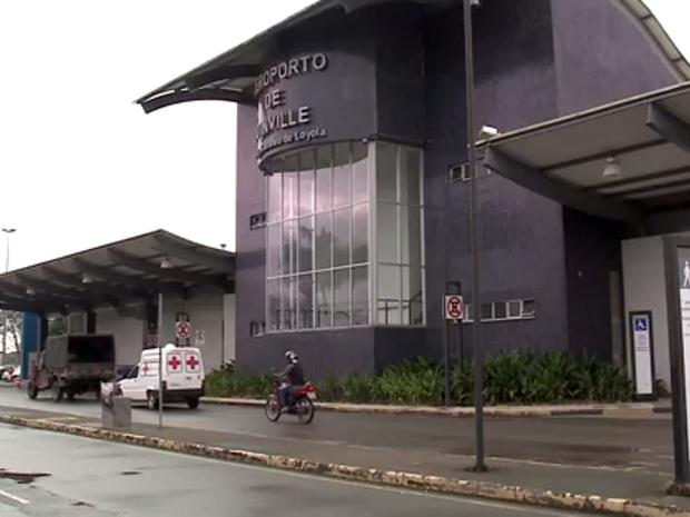 Aeroporto de Joinville (Foto: Reprodução/RBSTV)
