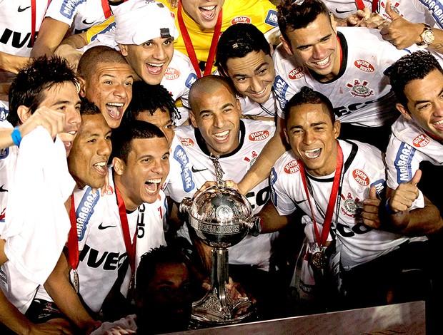 Corinthians campeão da Libertadores (Foto: AP)